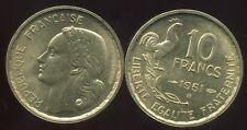 10 francs   GUIRAUD   1951 B     SPL