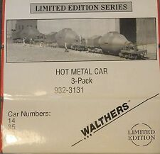Walthers Hot Metal Car Kits--3 Pack --Sealed--New Old Stock -- HO SCALE