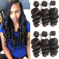 3bundles 150g Brazilian Virgin Hair Loose Wave Hair Bundles Human Hair Extension