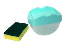 Soap Dispenser Kitchen and Bathroom Kitchen Countertop Sponge Holder Soap Dish