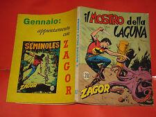 ZAGOR ZENITH- ORIGINALE- N°93 - LIRE 200- (ZAGOR gigante N°42)- DEL 1968- raro