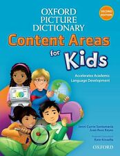 Oxford Picture Dictionary Content Areas for Kids English  - 9780194017756