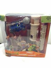 Shrek 2 Far Far Away Castle Deluxe Micro Play Set & Swamp Lot by Hasbro