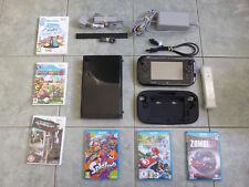Nintendo Wii U Console Premium Pack 32GB Bundle & Games, Controller and