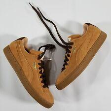 Puma Suede Classic Sandstorm Tan Shoes Men's US 7 EUR 39 Brown Lace up NWOB