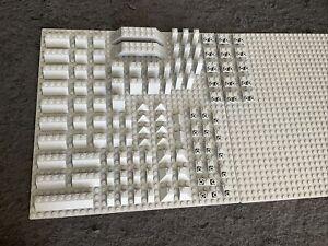 Lego lot genuine 110 Light Bluish Grey Slope Bricks Various Types