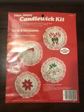 Creative  Moments Candlewick 4 Ornaments Kit  #8626 Sealed 1983