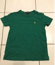 AUTHENTIQUE TEE SHIRT VERT RALPH LAUREN T.4 ANS