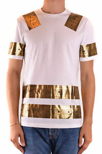 VERSACE COLLECTION Men's Clothing T-Shirts & Polos White NIB Authentic