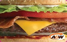 A&W Gift Card - $25 Mail Delivery