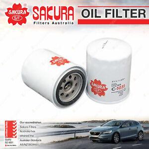 Sakura Oil Filter for VOLVO 440 2L Petrol 4Cyl 10/1993-1997 Refer Z56B