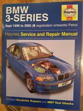 BMW 3 Series workshop manual Sept 1998 - 2003 (S reg onwards)