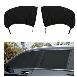 Car Front Window Sun Shade Cover Sunshade Breathable Mesh Double Layer w/Zipper