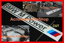 """2x 9"""" 22.9cm BMW M Power Decal Sticker M3 M5 Z3 E92 E46 E36 E30 E34 E39 CSL 1M 4"""