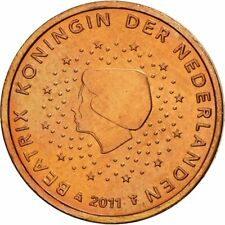 [#461312] Nederland, 2 Euro Cent, 2011, UNC-, Copper Plated Steel, KM:235
