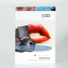 Original Rollei Prospekt - Rolleiflex Hy6 ( Englisch )