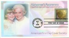 #4358 ALZHEIMERS AWARENESS FDC 10/17/08, AFDCS COVER, CHRIS CALLE DESIGN