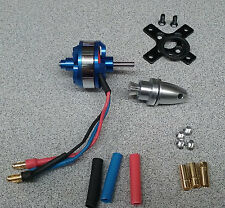 1800KV Brushless Motor with Prop adapter for RC Plane and Park Jet 11.1V LiPo