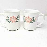Vintage Island Breeze Corelle by Corning 2 Piece Mug/Cup Set