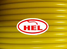 YZ125 05-10 HEL front and rear braided brake lines Yellow