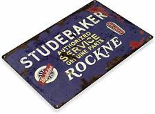 Studebaker Authorized Service Oil Gas Service Auto Shop Garage Sign
