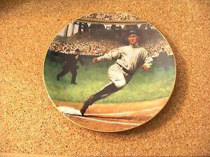Bradford Exchange 3rd plate in Series Ty Cobb The Georgia Peach Detroit Tigers