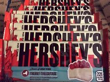 10 Hershey's Limited Edition Cherry Cheesecake bars-1.5oz