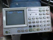 Tektronix 308 Data Analyzer With Manual Probes Amp Case