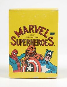 Marvel First Issue Covers Superheroes Boxed 60 Card Set 1984