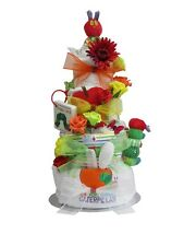 The Very Hungry Caterpillar luxury nappy cake 4 tier baby shower gift maternity