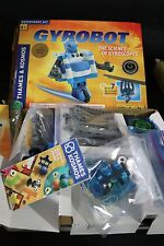 THAMES & KOSMOS GYROBOT EXPERIMENT KIT THE SCIENCE OF GYROSCOPES BUILD 7 MACHINE