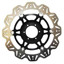 EBC Vee Rotor Black Front Brake Disc For Suzuki 1999 TL1000S X
