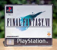 Final Fantasy VII | FF7 | PlayStation 1 | PS1 | PAL | No Manual