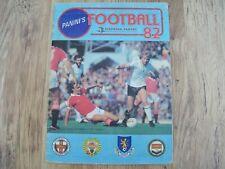 ENGLISH FOOTBALL LEAGUE PANINI STICKER ALBUM '82....COMPLETE 1982