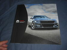 2015 Dodge Charge Accessories Original Color Brochure Catalog Prospekt