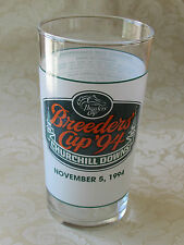 11th BREEDERS' CUP 1994 Official Souvenir Glass