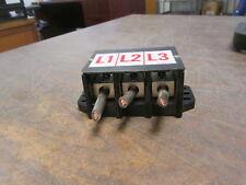 Marathon Power Distribution Block 1403401 175a 600v 3p Line20 6810 14 Used