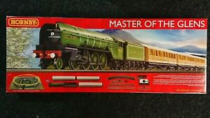 HORNBY R1183 Master Of The Glens Electric Train Set DCC Ready NEW