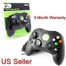 XBOX CONTROLLER S WIRED SOLID BLACK FOR THE ORIGINAL XBOX BRAND NEW SEALED
