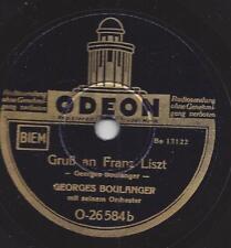 Georges Boulanger Orchester : Gruß an Franz Liszt
