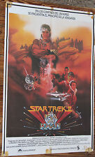 Used - Cartel de Cine  STAR TREK II  LA IRA DE KHAN  Vintage Movie Film Poster