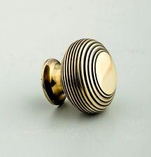 Beehive Large Cabinet Knob - Brass