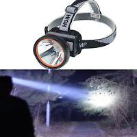 Odear Bright Headlamp LED Rechargeable Flashlight Headlight Camping Fishing hunt