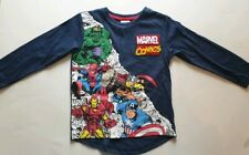 Official MARVEL - Avengers Boys Pjama Top Age 3 - 4 yrs - New With Tags