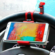 SOPORTE DE COCHE PARA MOVIL VOLANTE IPHONE 6 5 5S 5C 4S SONY XPERIA NEXUS HTC