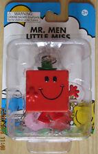 Mr Men Little Miss Keychain Mr Strong 3D Mini Figure NEW Key Chain Ring FASTPOST