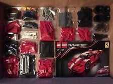 Lego Technic Technik Racer 8156 FFX Ferrari. 100% Komplett