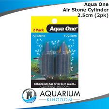 #10144 Aqua One Cylinder Air Stone 2.5cm -2 Pack For Aquarium Fish Tank Air Pump