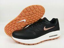 Nike Air Max 1 Golf Shoes Black Gum AQ0865-002 Women's Size 9 NEW