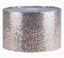 Pale Pink Sequinned Ceiling Light Shade Lightshade 30cm